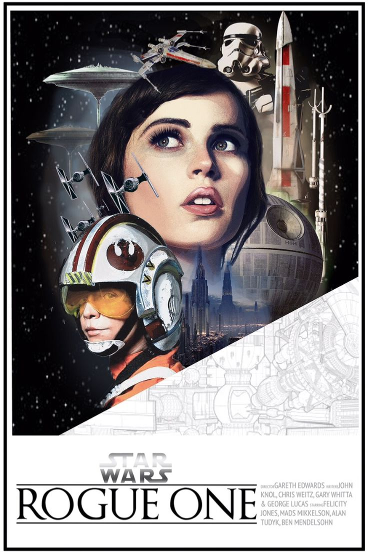 Rogue One: A Star Wars Story ( I liked the sound of Anthology A LOT better) fan poster
