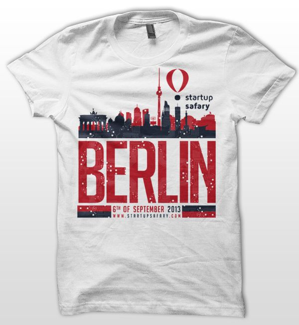 berlin t shirt design for startup safary by jimagic - Designs For T Shirts Ideas