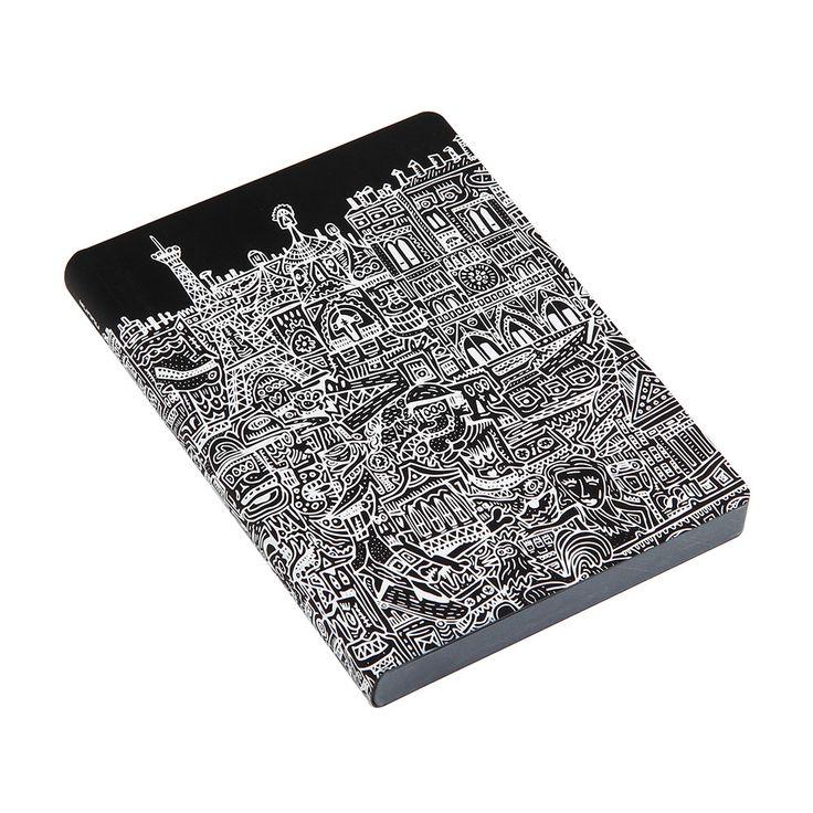 Discover the Nuuna Paris Illustration Leather Notebook at Amara