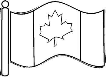Coloring Pages: Canadian Flag to go with Sonlight's Create-A-Calendar ...