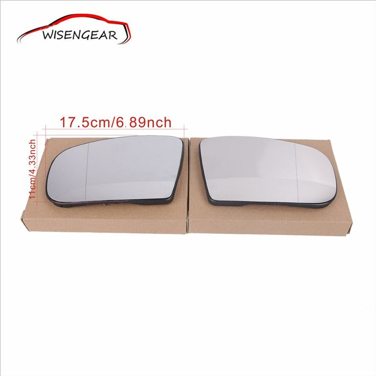 (61.79$)  Watch now  - 1Pair Heat Door Mirror Glass and Backing Plate For Mercedes-Benz S-class W220 CL55 CL65 S350 S55 S430 AMG Sedan 2003-2006 C/5