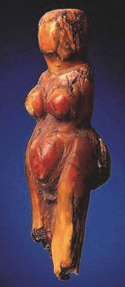 'Venus Abrachiale' - Balzi Rossi, Barma Grande cave dated to about 22,000 years ago.