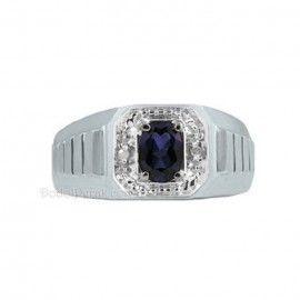 Cincin Perak Pria Gior Blue Sapphire Cincin Perak Pria Gior merupakan cincin berbahan perak berkualitas 925, dengan model simple, berhiaskan sebuah batu blue sapphire oval dan dihiasi dengan taburan diamond pada sekeliling batu sapphire, serta ornamen pada batang samping cincin. Finishing akhir gilap dilapis dengan rhodium/emas putih. Cocok untuk tambahan koleksi cincin pria anda.  detail http://dodolperak.com/cincin-perak/cincin-perak-pria-gior-blue-sapphire.html