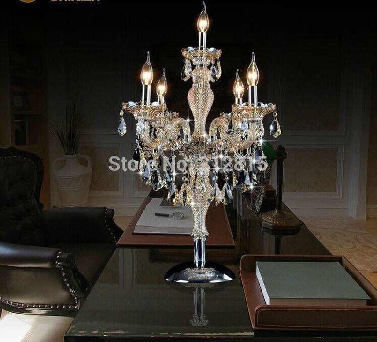 Goedkope , koop rechtstreeks van Chinese leveranciers: restaurant franse antieke kandelaar grote kristallen tafel lampen spanje grote kandelaar bruiloft villa eetkamer tafel lichtSpecificatie: d530mm h770mm
