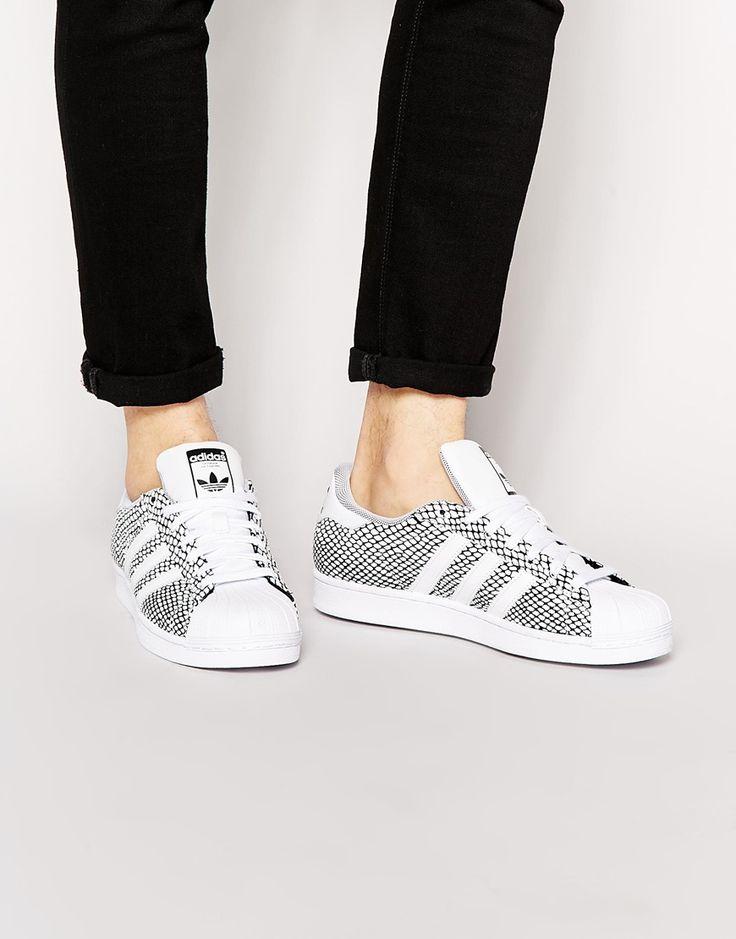 Adidas Originals - Superstar - Baskets façon serpent S82731