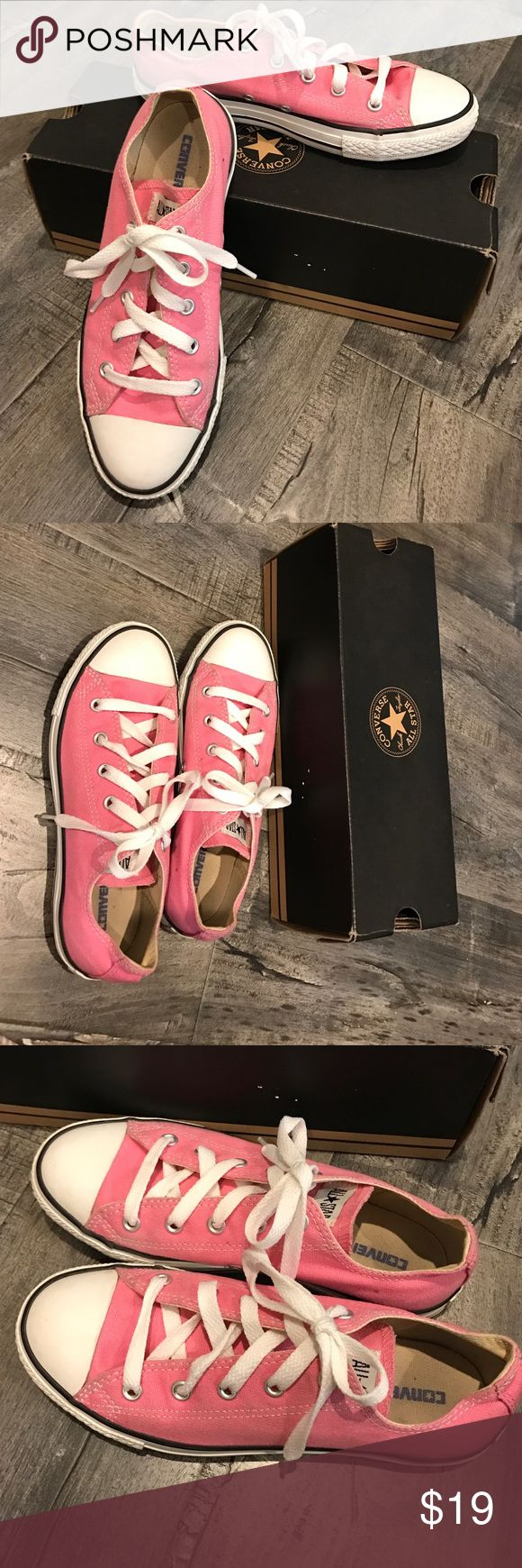 Pink all star converse Pink all star converse. Worn twice. Great condition . Converse Shoes Sneakers