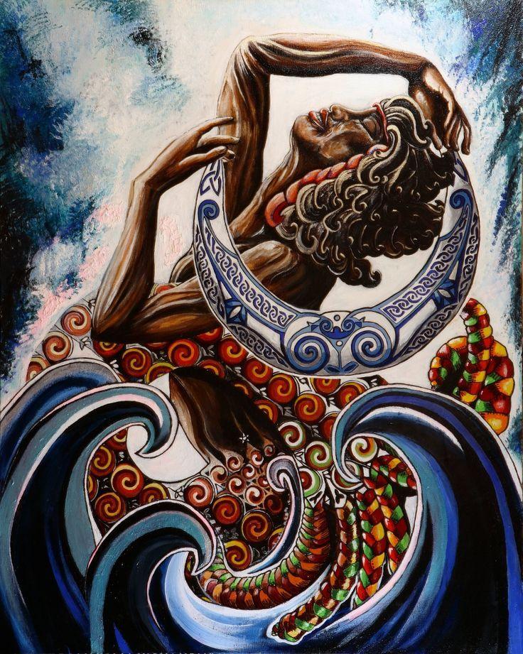 67 best images about yemanj on pinterest black women art amor and tattoo ideas. Black Bedroom Furniture Sets. Home Design Ideas