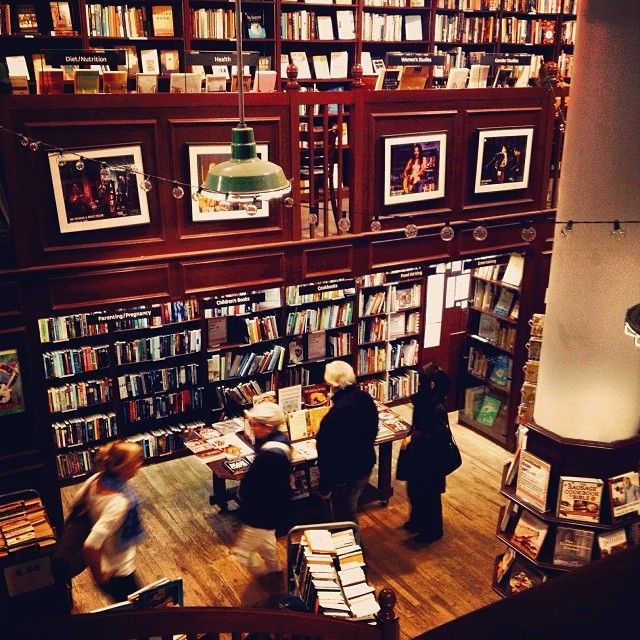 Three cheers for the independent booksellers and coffee slingers of these United States of America.