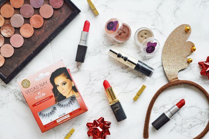 Christmas Makeup   Makeup Geek, Mac, Loreal, Violet Voss, Glitter Eylure   Makupe & Beauty  http://www.meganjean.co.uk