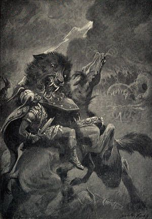Dire Wolf Mythology — The Dire Wolf Project