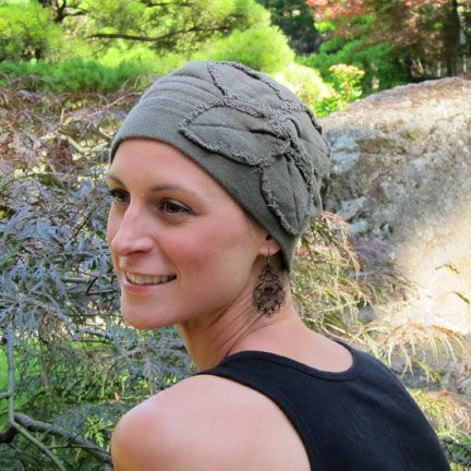 Butterfly Beanie. All day comfort, full coverage and great style. A perfect hat for cancer patients.  My top recommendation for a gift for cancer patients.