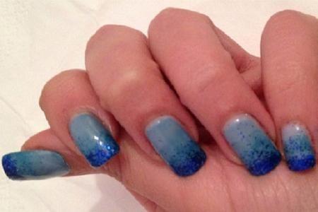 Come decorare le unghie con lo smalto sfumato - Beauty
