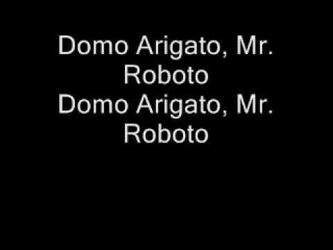 Styx-Mr. Roboto Lyrics (We gotta have Mr. Roboto!!!!)