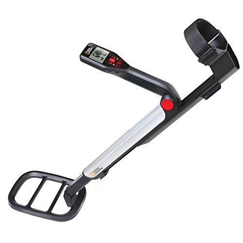 A portable metal detector is an electronic instrument which detects the presence of metal nearby. Metal detectors are useful for finding metal inclusions hidden within objects, or metal objects buried underground. They often consist of a handheld unit with a sensor probe which can be swept over the ground or other objects.