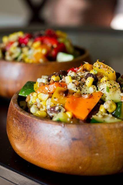 Long Weekend Grilled Salad.