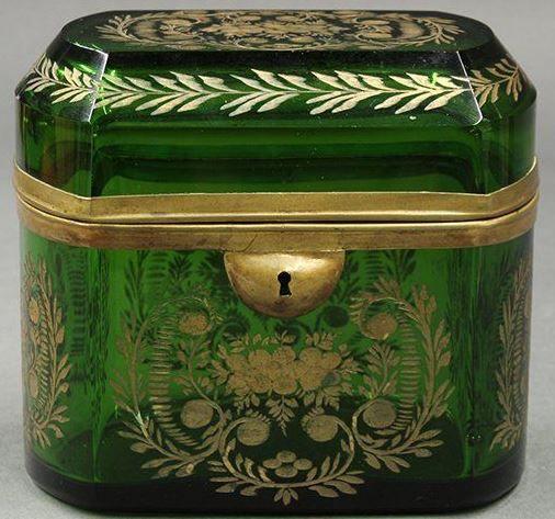 Victorian Jewel Casket (Glass)