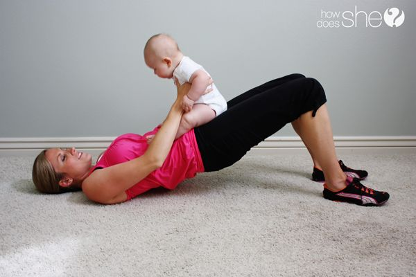 how to exercise WITH baby