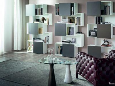 #Bibliothèque #Ouverte #Fermée #Laquée #bois #Cattelan #Italia #Portes #coulissantes #caisson #esthétique #decalage #dynamique # Meubles #Richard - http://meubles-design.lu/meubles/index.php?option=com_content&view=article&id=536:bibliotheque-rangements-bois&catid=18:bibliotheques&Itemid=294
