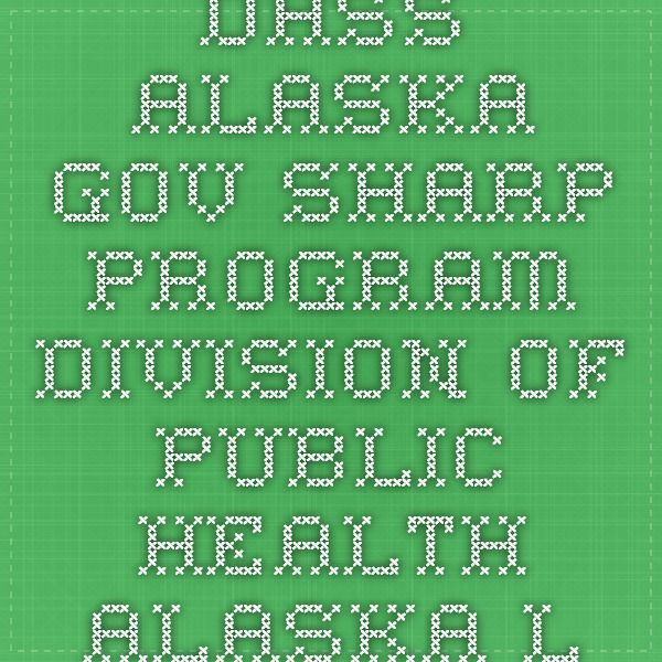 dhss.alaska.gov  SHARP program division of public health Alaska loan repayment program nursing