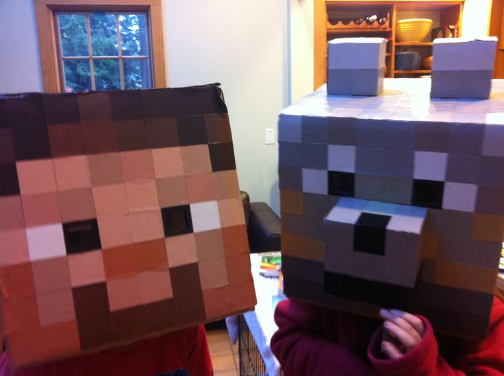 Minecraft Steve and Wolf Halloween costumes for 2012 ... Minecraft Wolf Costume & Minecraft Wolf Costume image tips