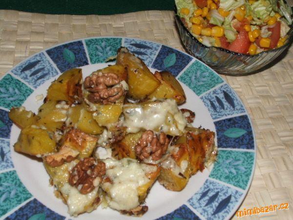 Pečené brambůrky s nivou - jednoduchý, ale skvělý oběd či večeře
