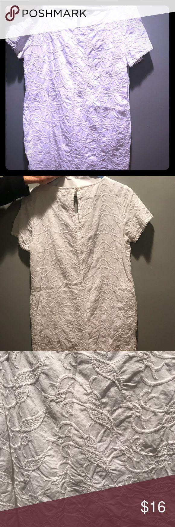 White Old Navy mini dress Size L White Old Navy Dresses Mini