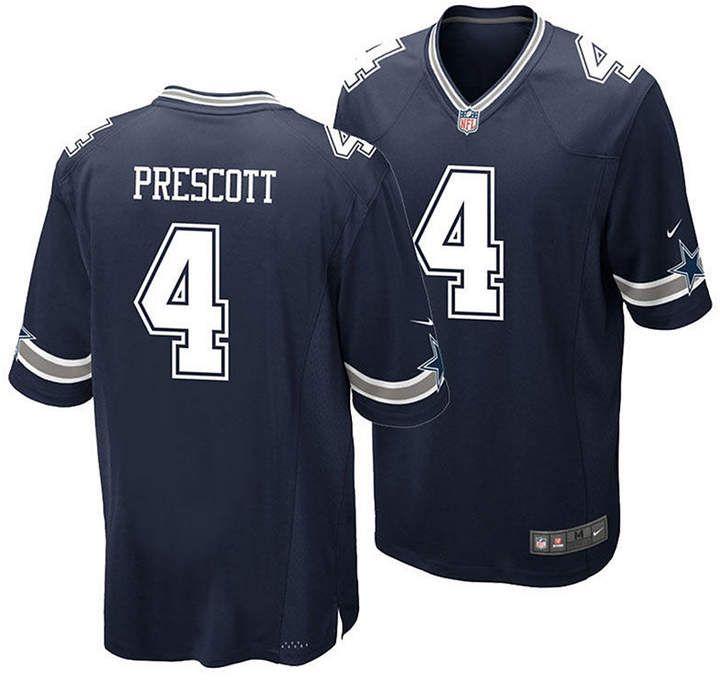 dak prescott color rush jersey