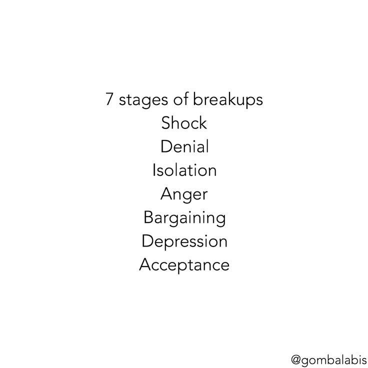 7 stages of breakups So, which stages where you at right now? #breakups #quote #stages #love