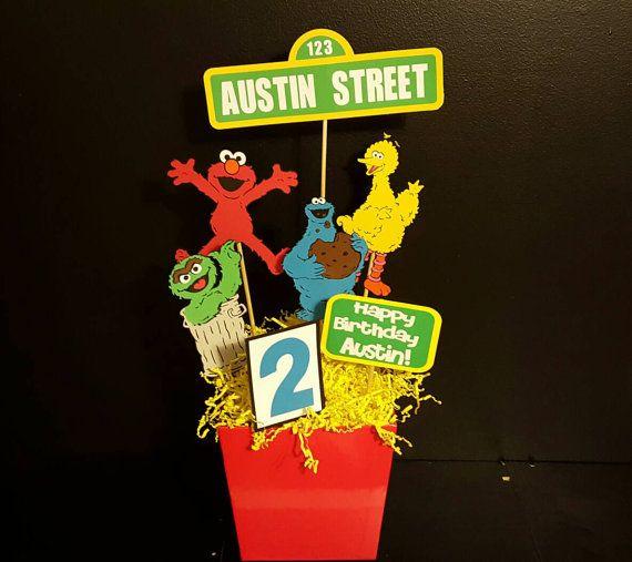Sesame Street Party-Sesame Street by FromAtoZbyTami on Etsy