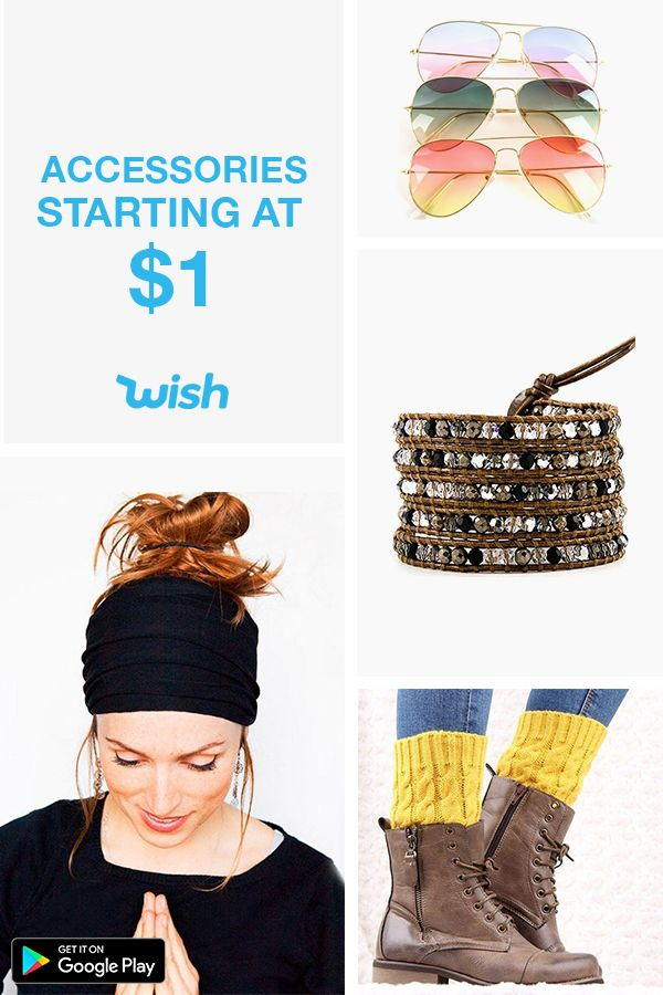 Why pay full price when you could save 50-80% on the latest trends? Download the Wish app today for free!