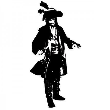Jack Sparrow ist wohl der berühmteste Seeräuber auf der ganzen Welt. Er macht nicht nur die See mit seinem aussehen unsicher, sondern auch dein Zuhause. #Jack Sparrow #Johnny #Freibeuter #Persönlichkeiten #Wadeco // http://www.wadeco.de/pirat-freibeuter-sparrow-wandtattoo.html