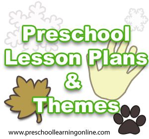 Free preschool lesson plans, kindergarten lesson plans and theme ideas for pre k children & toddlers to learn about various topics in school or at home.