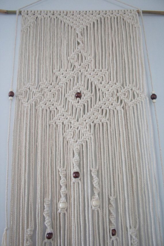 Macrame Wall Hanging 'Florence' by PrettyKooky on Etsy