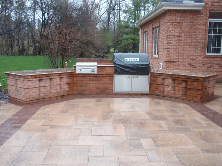 17 images about diy brick bbq grill ideas on pinterest patio grill stove and outdoor oven - Building an outdoor brick barbecue ...