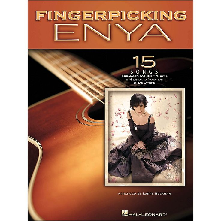 Hal Leonard Fingerpicking Enya 15 Songs Arranged for Solo Guitar In St