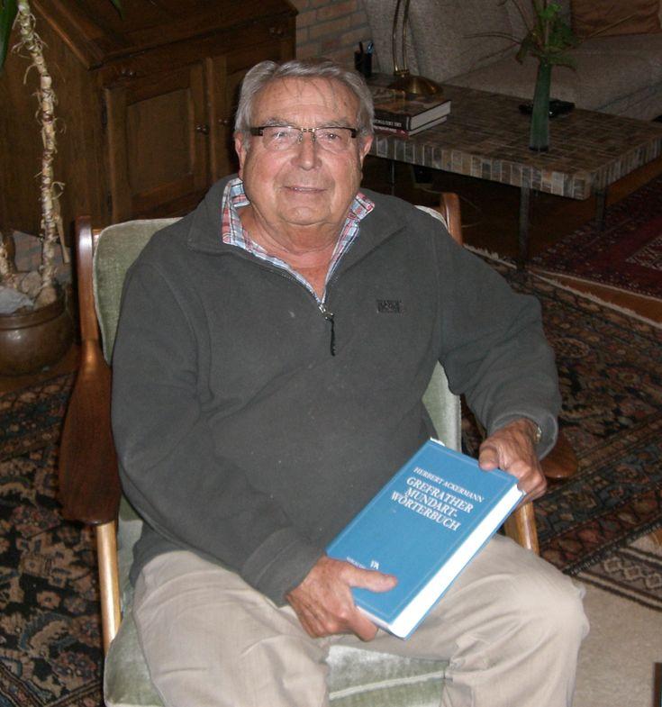 Herbert Ackermann, Mundartexperte aus Grefrath Er hilft