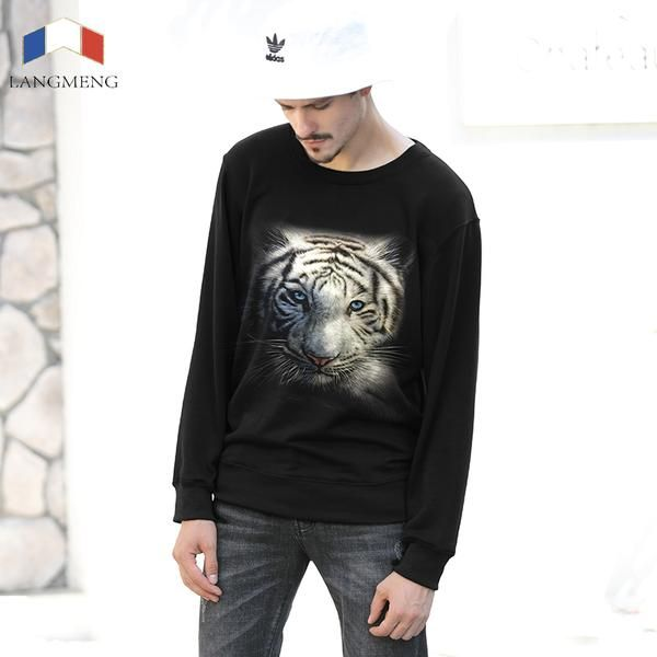#BestPrice #Fashion LANGMENG 2017 Fashion Design Hoodies Men/Women Hoodies 3D Sweatshirt Animal Print Hoody Tracksuits Pullover Thicken Men…