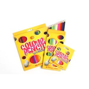 Get the kids colouring these summer holidays with Marbig Coloured Pencils