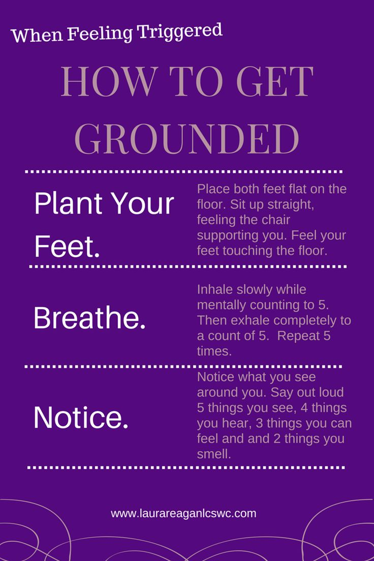 Being Grounded Is A Good Thing!