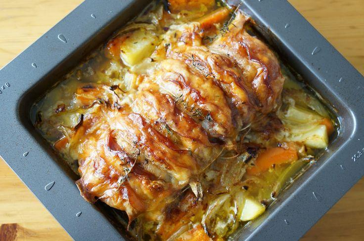 The Cook Time: Rôti de porc façon Orloff au bacon et au comté