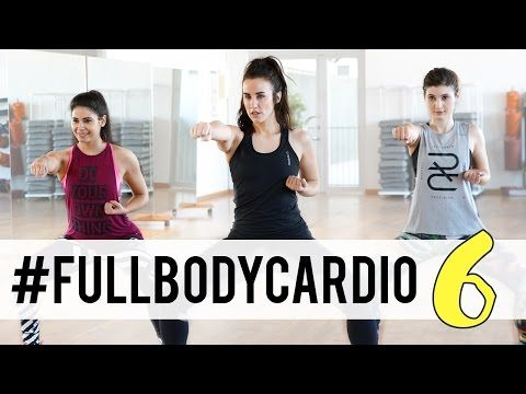 Fullbody cardio 6 | Rutina completa para adelgazar 45 minutos - YouTube