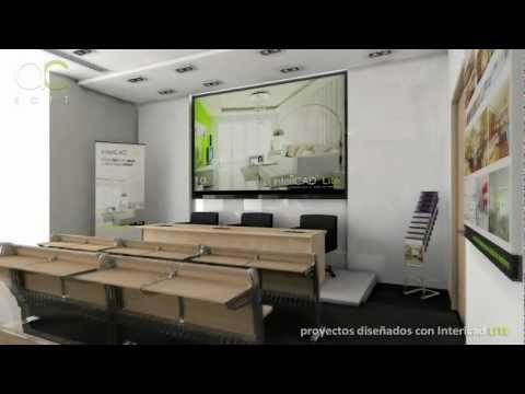 #intericad Video presentation on Full HD made only with InteriCAD Lite, right now on the TOP 5 best interior design softwares