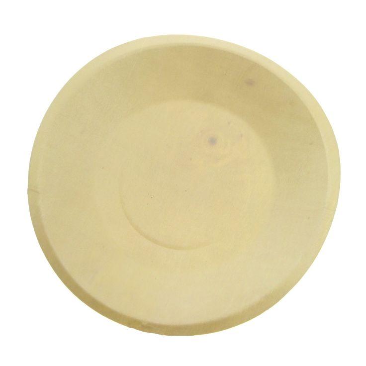 """Greenmunch - Wood Round Plates - 7.5"""", $67.00 (http://www.greenmunch.ca/wood-round-plates-7-5/)"""