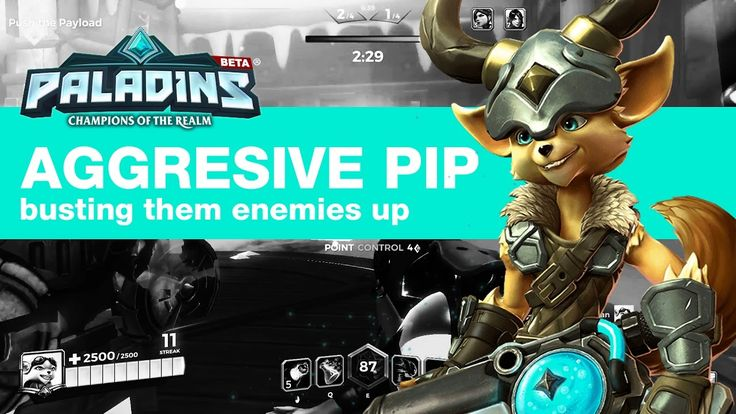 How to be aggressive with Pip - Paladins Pip Gameplay