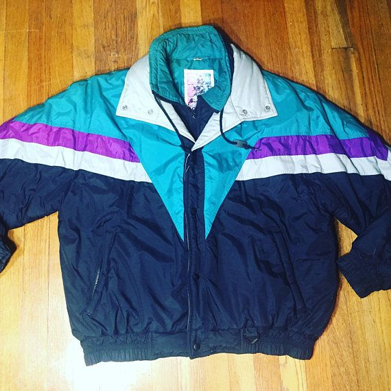 80s Fresh prince ski jacket windbreaker 90s clothing 90s