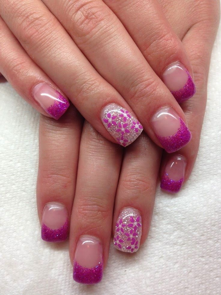 Gel Nails With Chrome Accent Nail: 1000+ Images About Nails On Pinterest