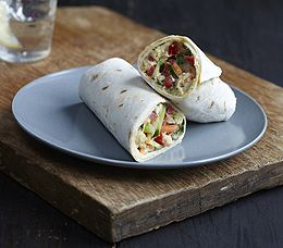 Mypanera Recipe: A Hummus And Monterey Jack Wraps