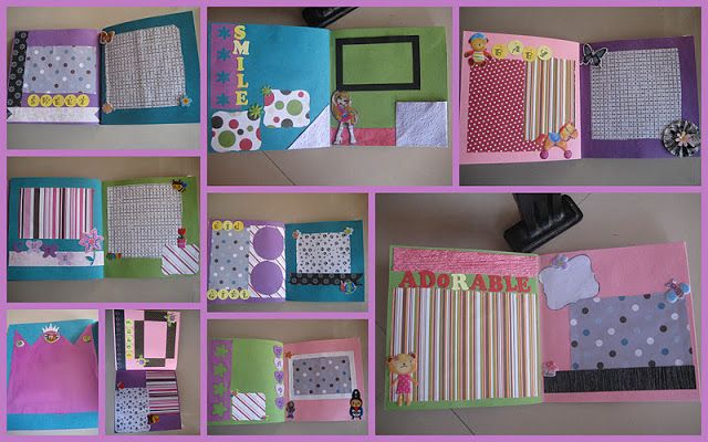 HappyMomentzz crafting by Sharada Dilip: SCRAPBOOK