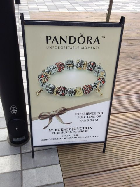 It's a sign!! We carry Pandora