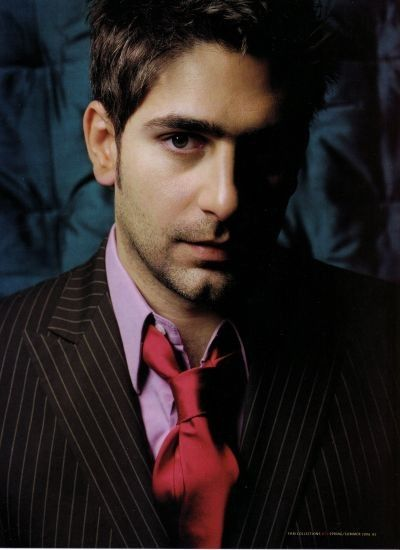 Michael Imperioli. Everyone looks better once they've starred in The Sopranos such awesome characters